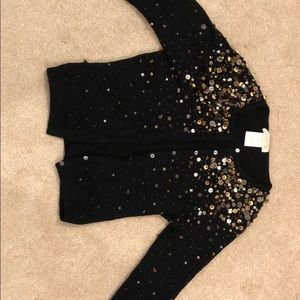 LaROK black crop cardigan